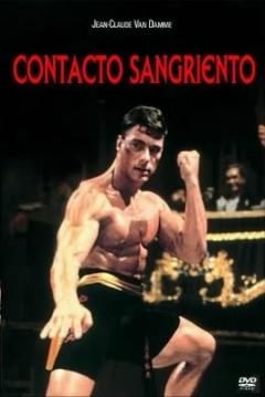 Poster Contacto Sangriento