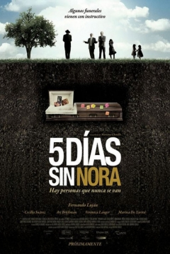 Poster Cinco Das sin Nora
