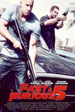 Poster Fast & Furious 5 (A Todo Gas 5)