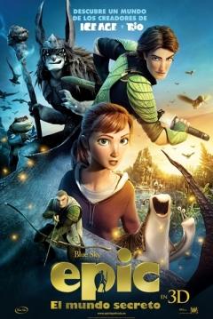 Poster Epic: El Mundo Secreto