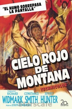 Poster Cielo Rojo de Montana