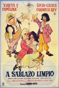 Poster A sablazo limpio