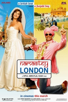 Poster Namastey London