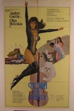 Poster Nora la rebelde