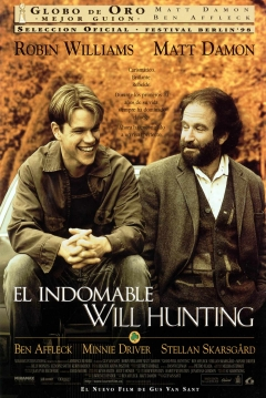 Poster El Indomable Will Hunting