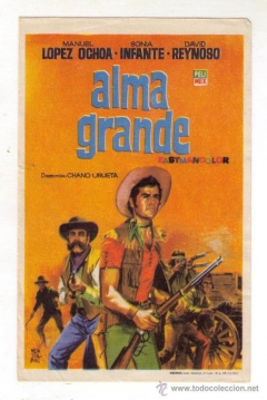Poster Alma grande
