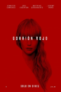 Poster Gorrión Rojo