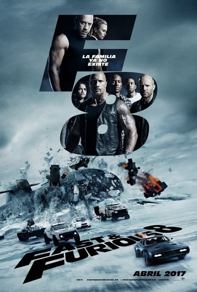 Poster Fast & Furious 8 (A Todo Gas 8)
