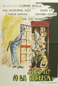 corto italiano strip tease en Madrid