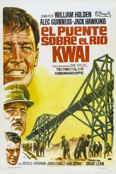 Poster El Puente sobre el Ro Kwai