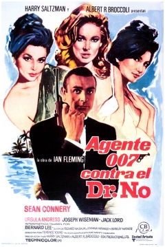 Poster Agente 007 contra el Dr. No