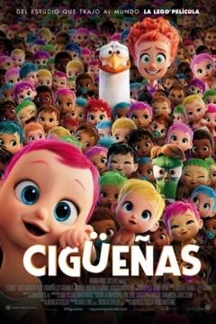 Poster Cigüeñas