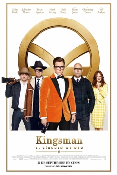 Ficha Kingsman 2: El Circulo De Oro