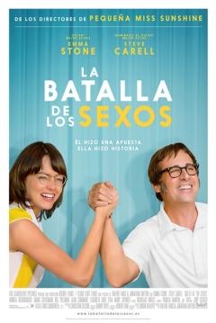 Poster La Batalla de los Sexos