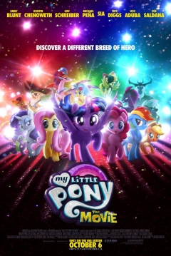 Poster My Little Pony: La Película
