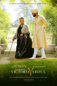 Poster La Reina Victoria y Abdul