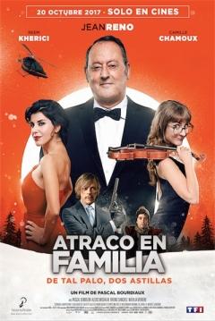 Poster Atraco en Familia