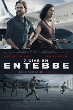 Poster 7 Días en Entebbe