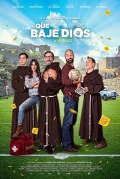 Poster Que Baje Dios Y Lo Vea
