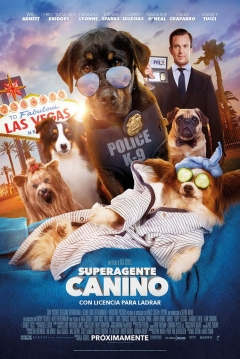 trailer de Superagente Canino