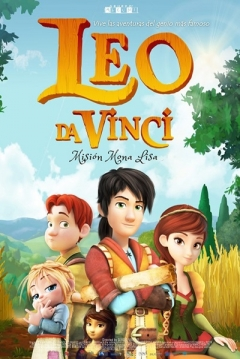 Poster Leo Da Vinci: Misión Mona Lisa