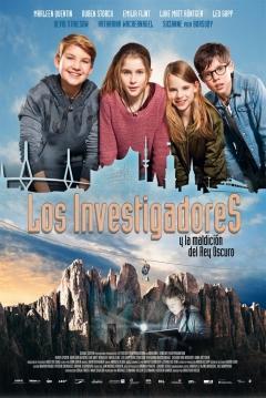 Poster Los Investigadores y la Maldición del Rey Oscuro