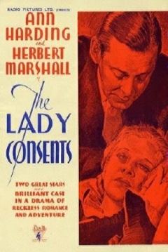 Poster The Lady Consents