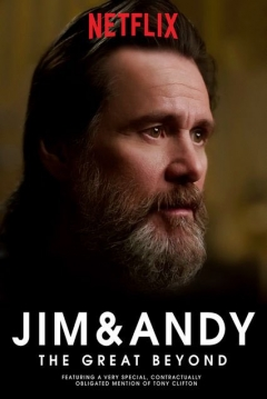 Poster Jim & Andy: The Great Beyond