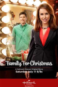 Poster Family For Christmas