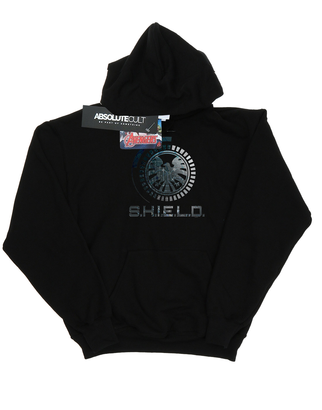 Marvel Women/'s Agents of SHIELD circuits hoodie