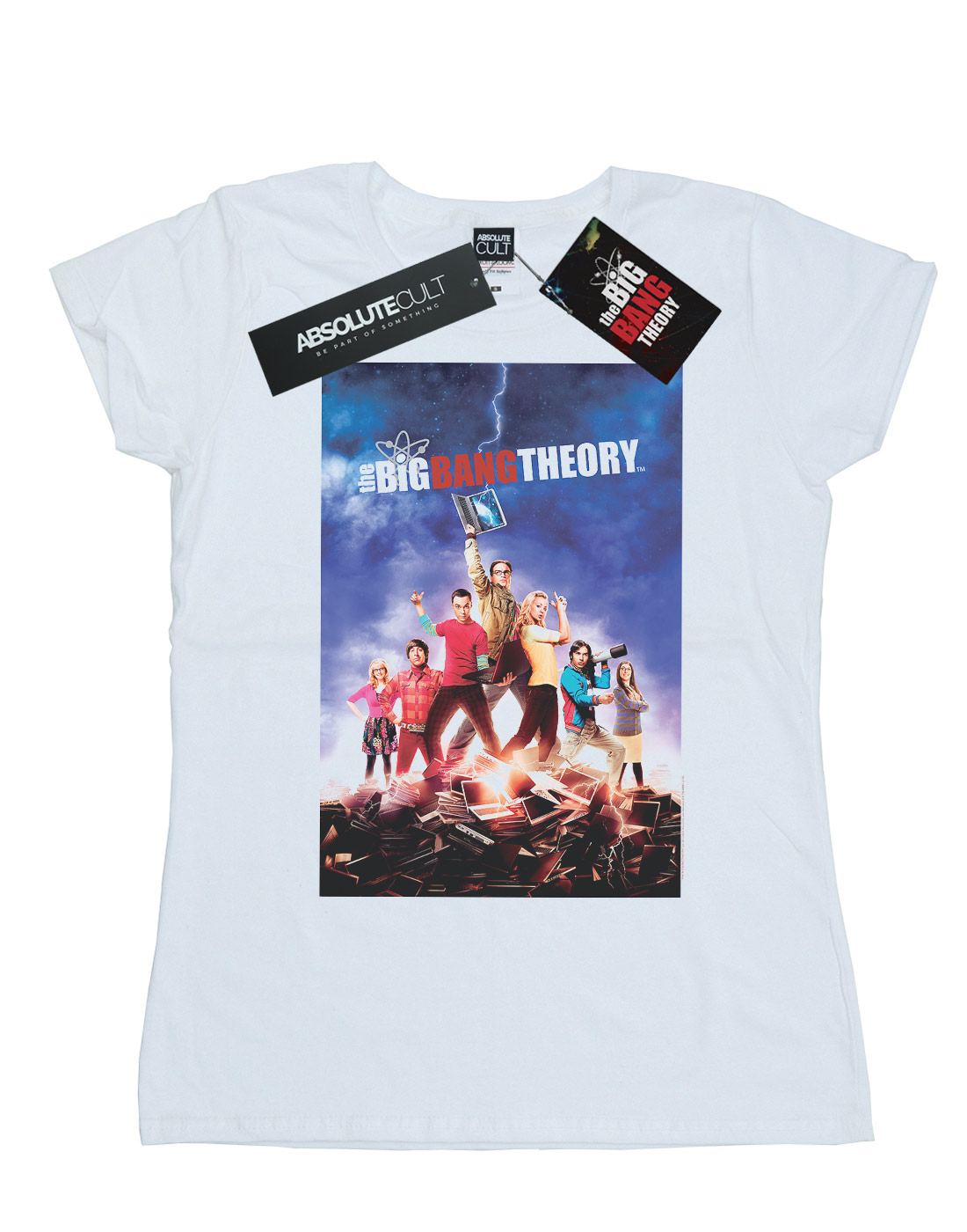 El Big Bang Theory para mujer carácter cartel T-Shirt