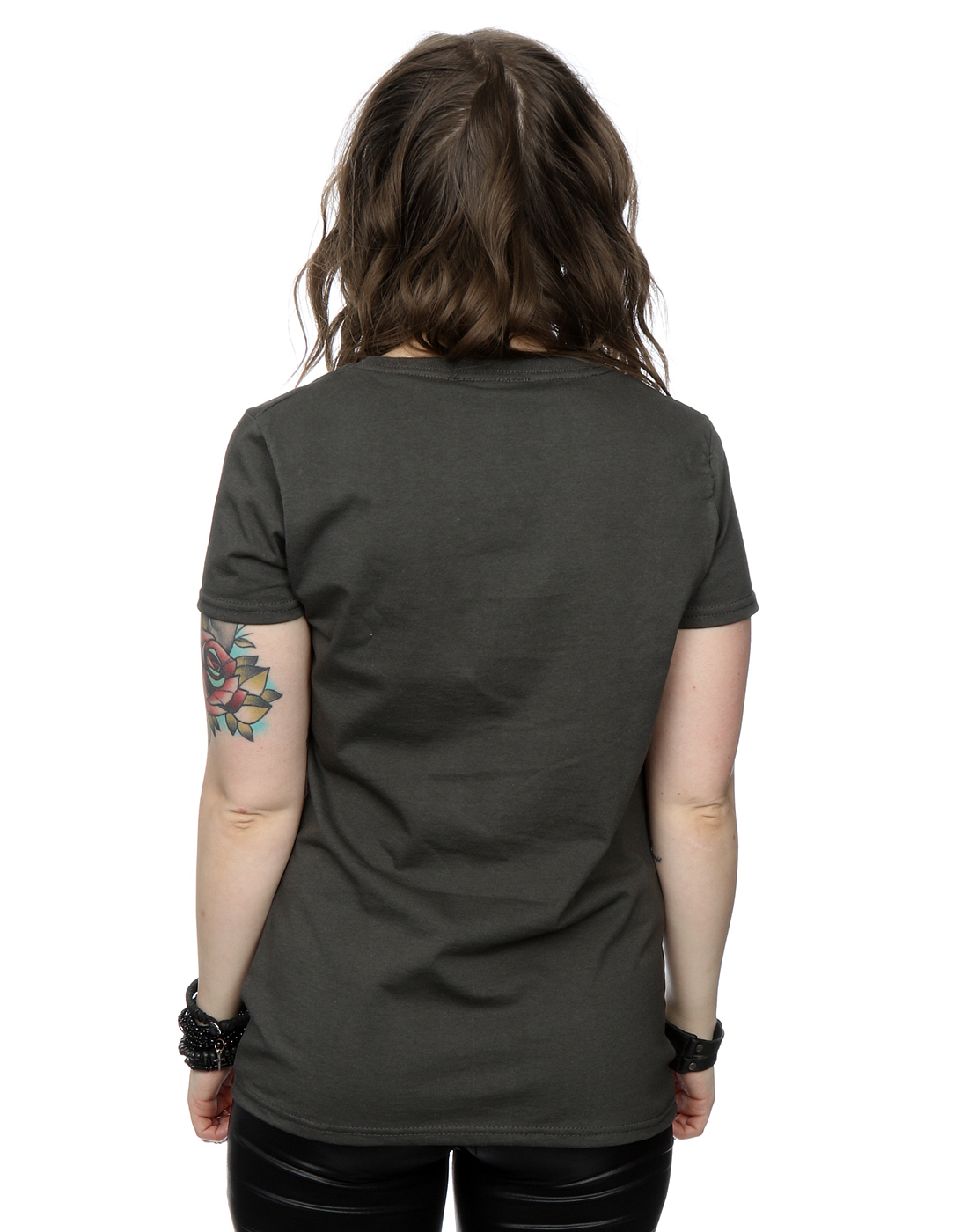Rolling stones women 39 s distressed tongue t shirt ebay for How to make a distressed shirt