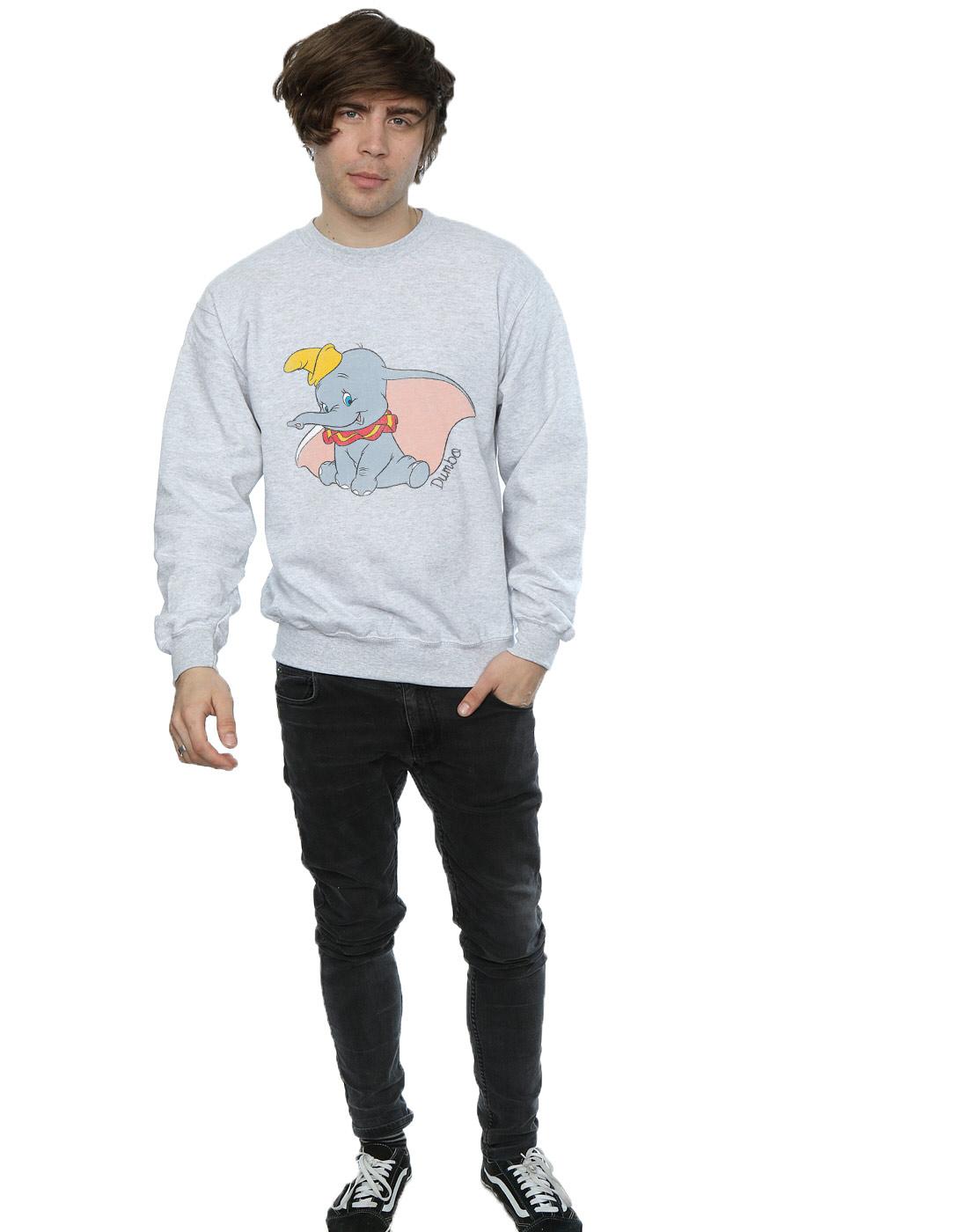 Disney Uomo Dumbo Classic Dumbo Felpa