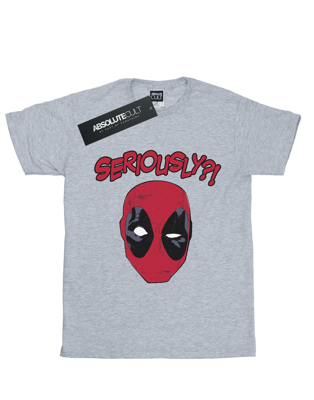 Marvel Boys Deadpool Seriously T-Shirt
