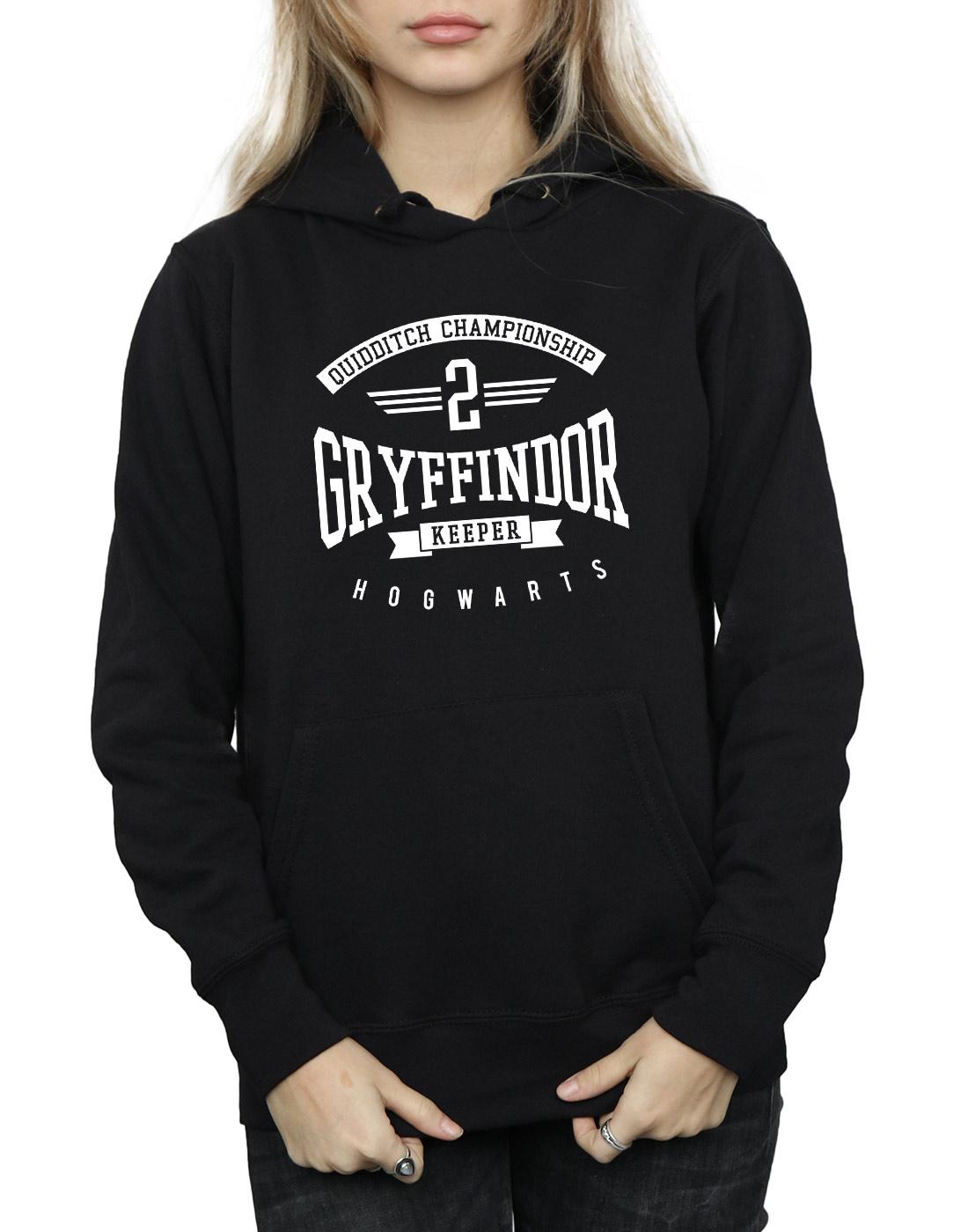 Harry Potter Damen Gryffindor Keeper Kapuzenpullover
