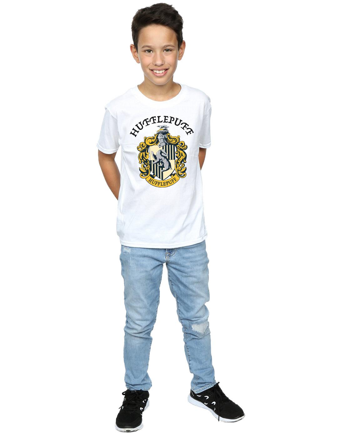 Harry Potter Jungen Hufflepuff Crest T-Shirt