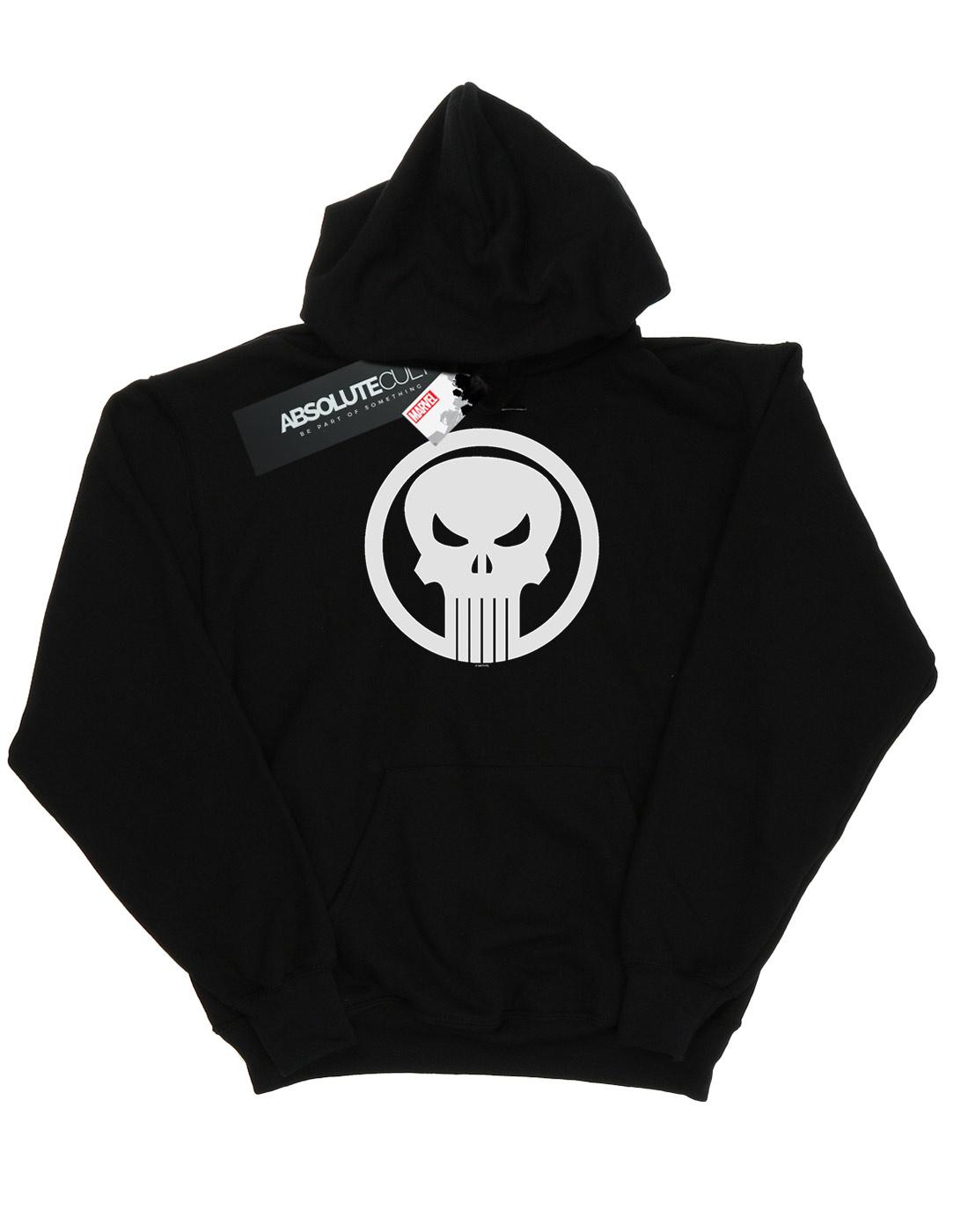 Marvel Boys The Punisher Skull Circle Hoodie
