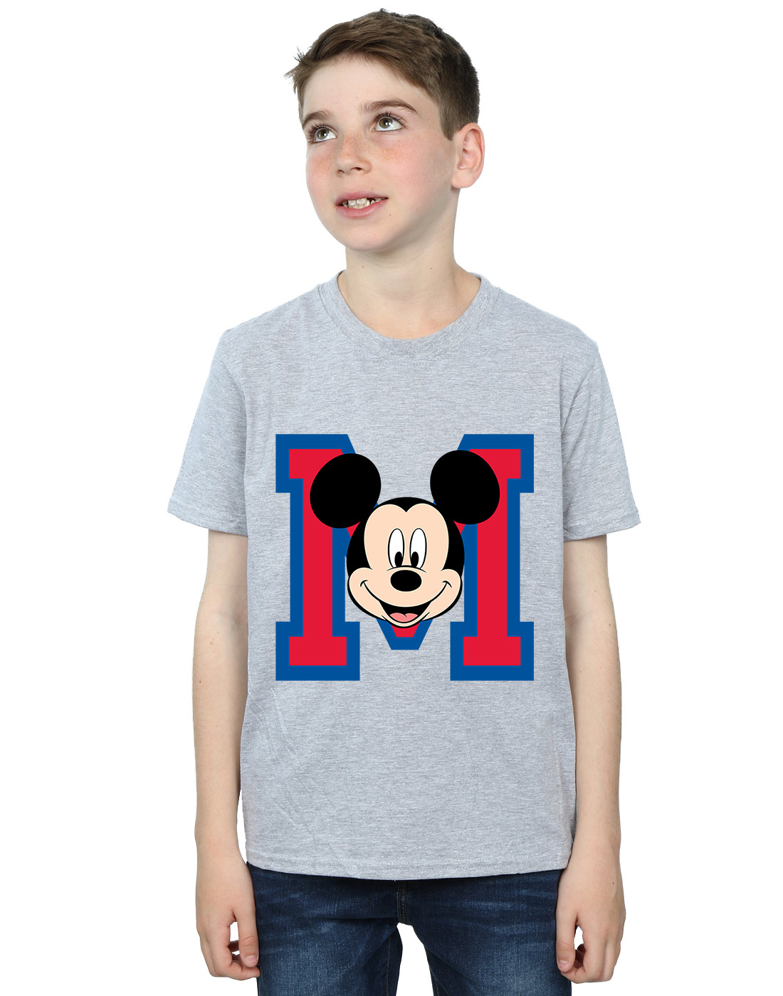Disney-Boys-Mickey-Mouse-M-Face-T-Shirt