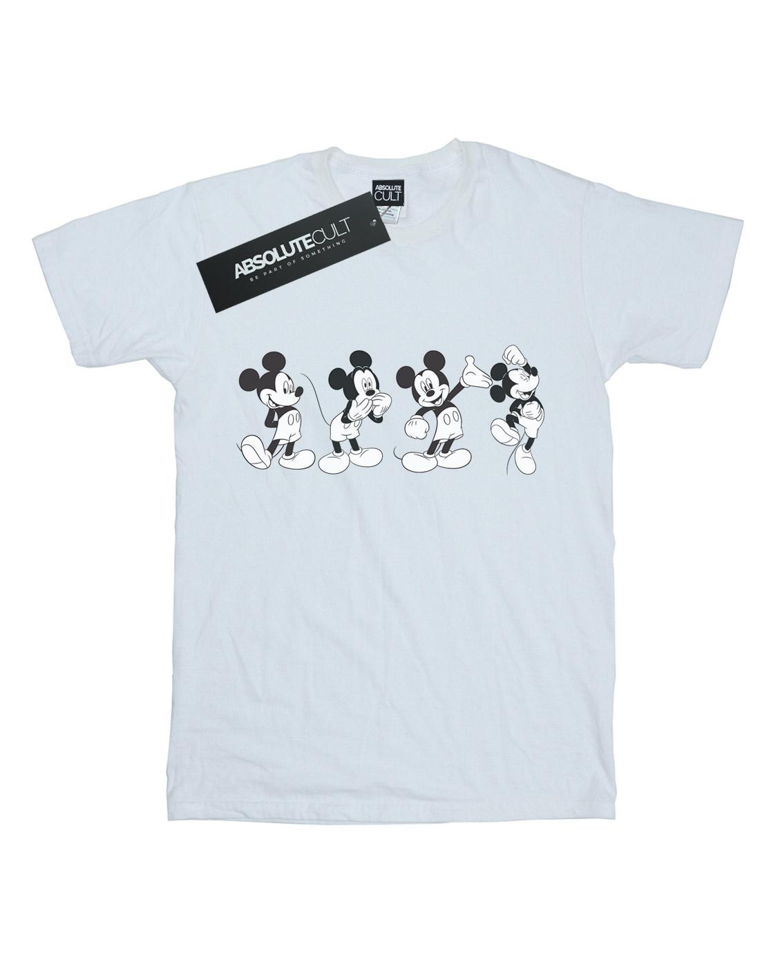 Disney Para Hombre Mickey Mouse cuatro emociones T-Shirt