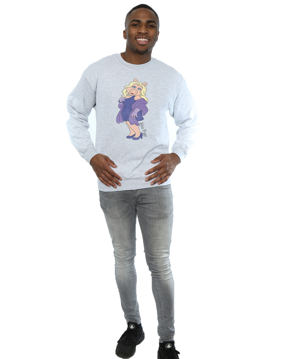 Muppets-Homme-Classic-Miss-Piggy-Sweat-Shirt
