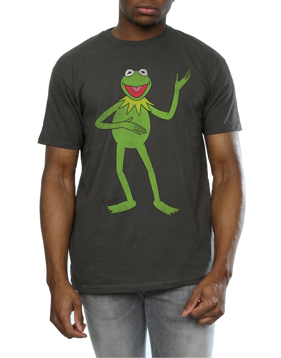 Disney Men/'s The Muppets Classic Kermit T-Shirt