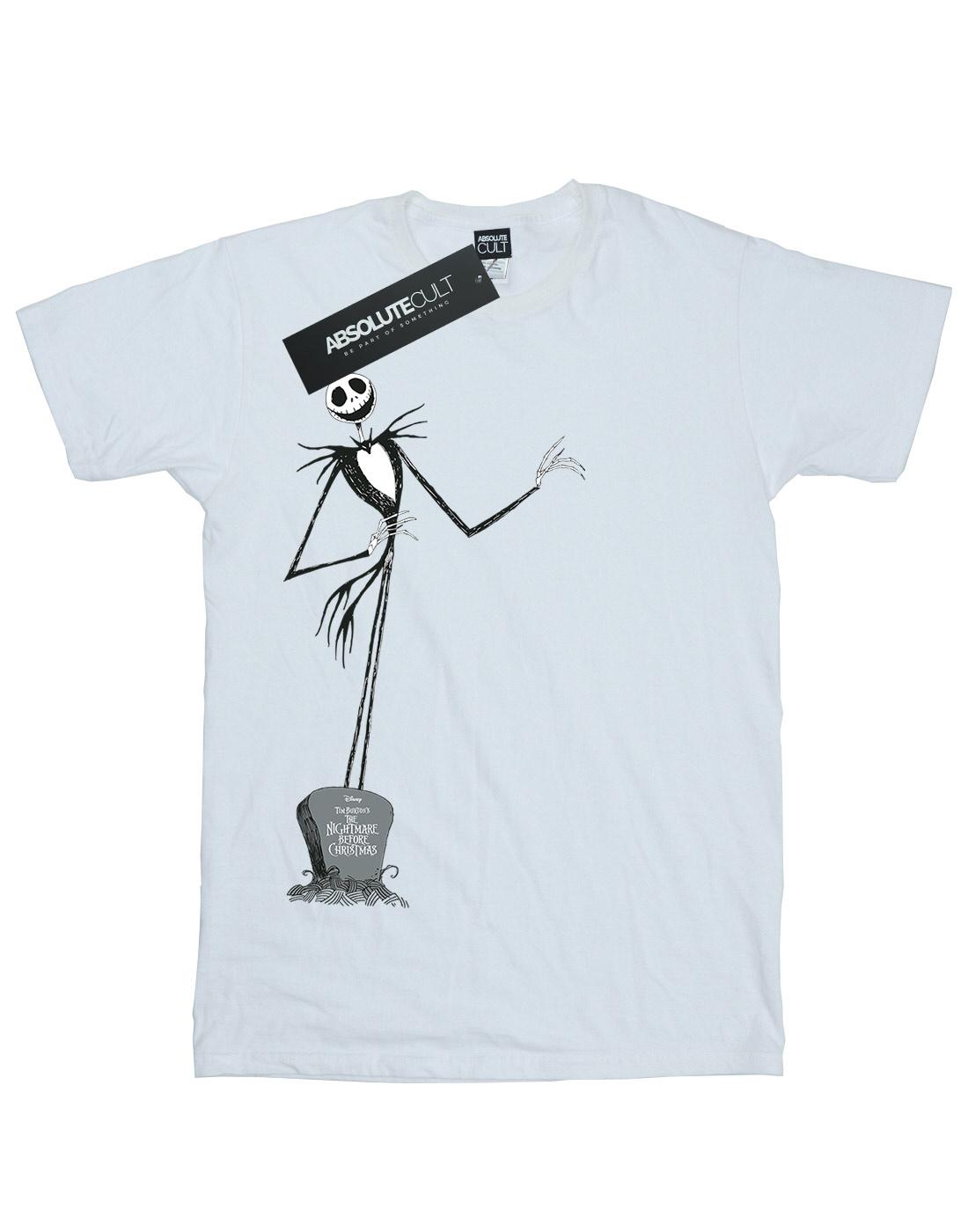 DISNEY Ragazze Nightmare Before Christmas Jack posa T-shirt