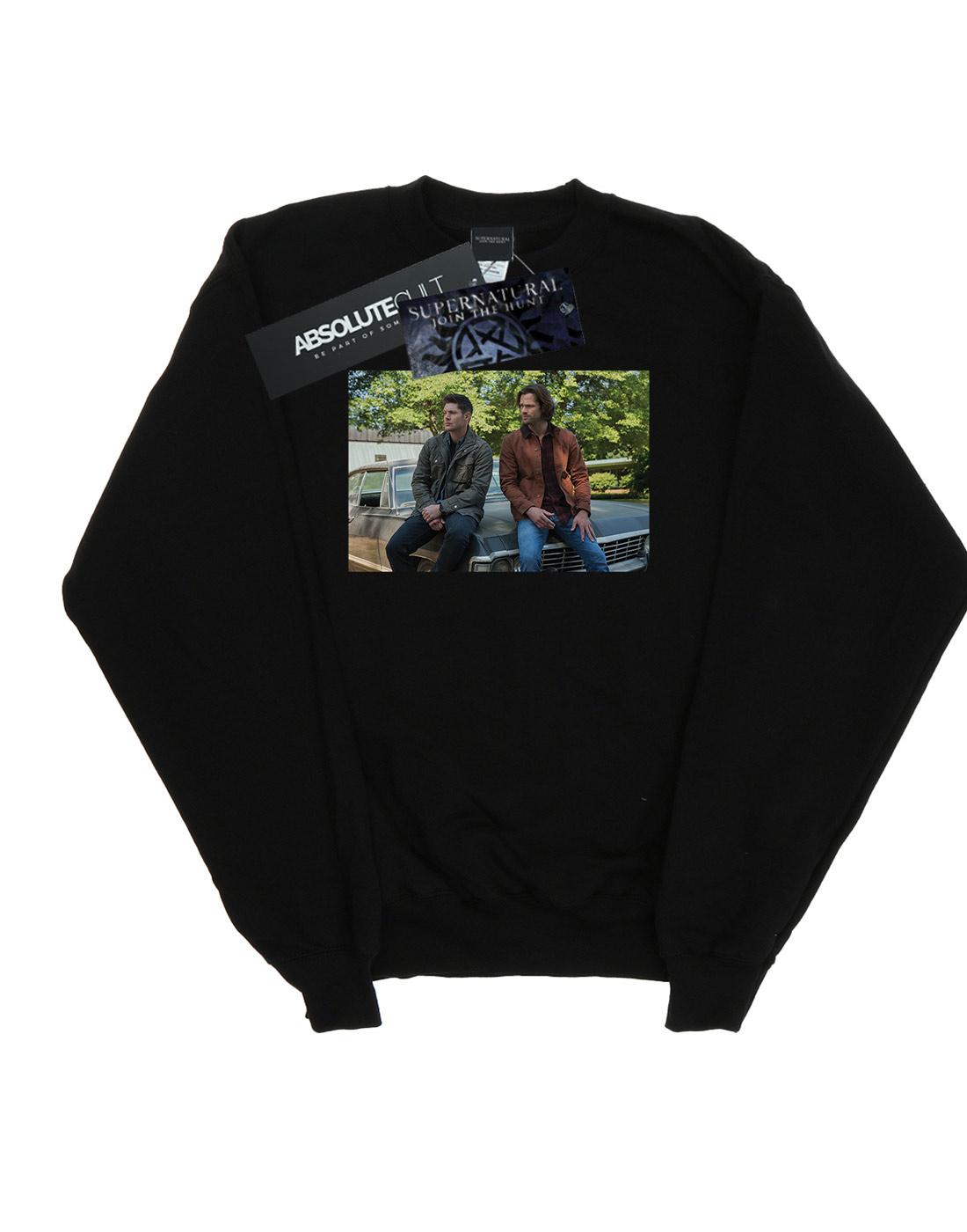 Supernatural Women/'s Impala Brothers Sweatshirt