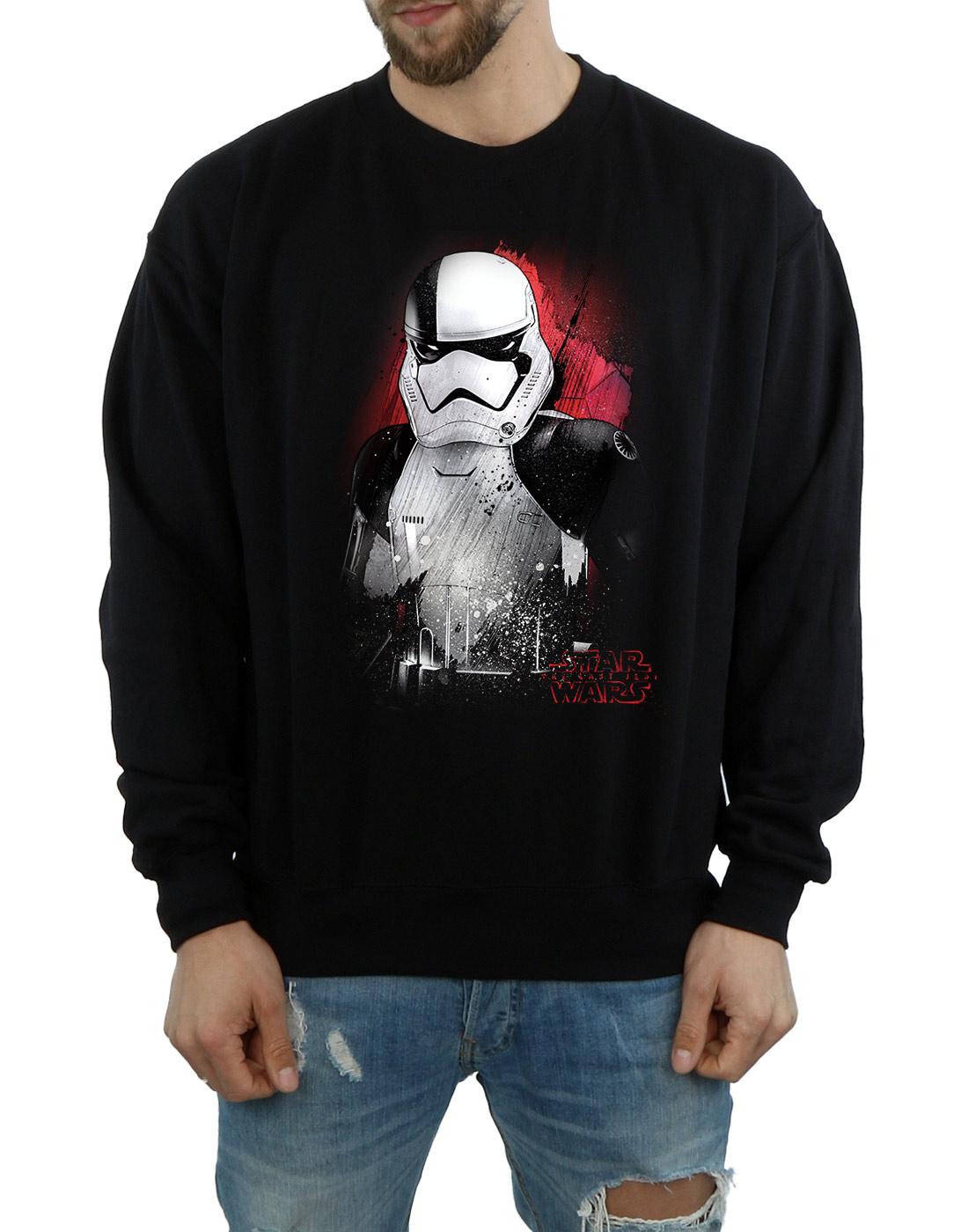 Star Wars Para Hombre Jedi Stormtrooper cepillado Sudadera la última