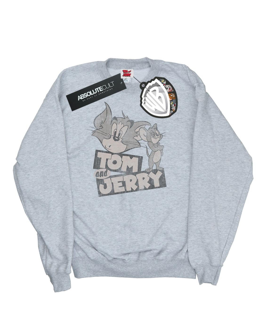 Tom et Jerry Boys Cartoon Wink Sweat