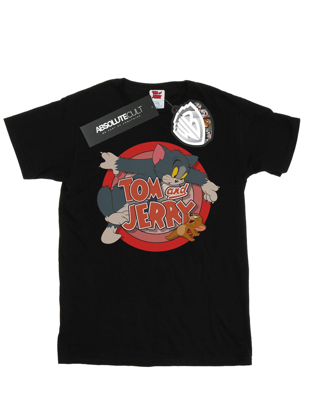 Tom And Jerry Bambini e ragazzi Classic Catch Maglietta