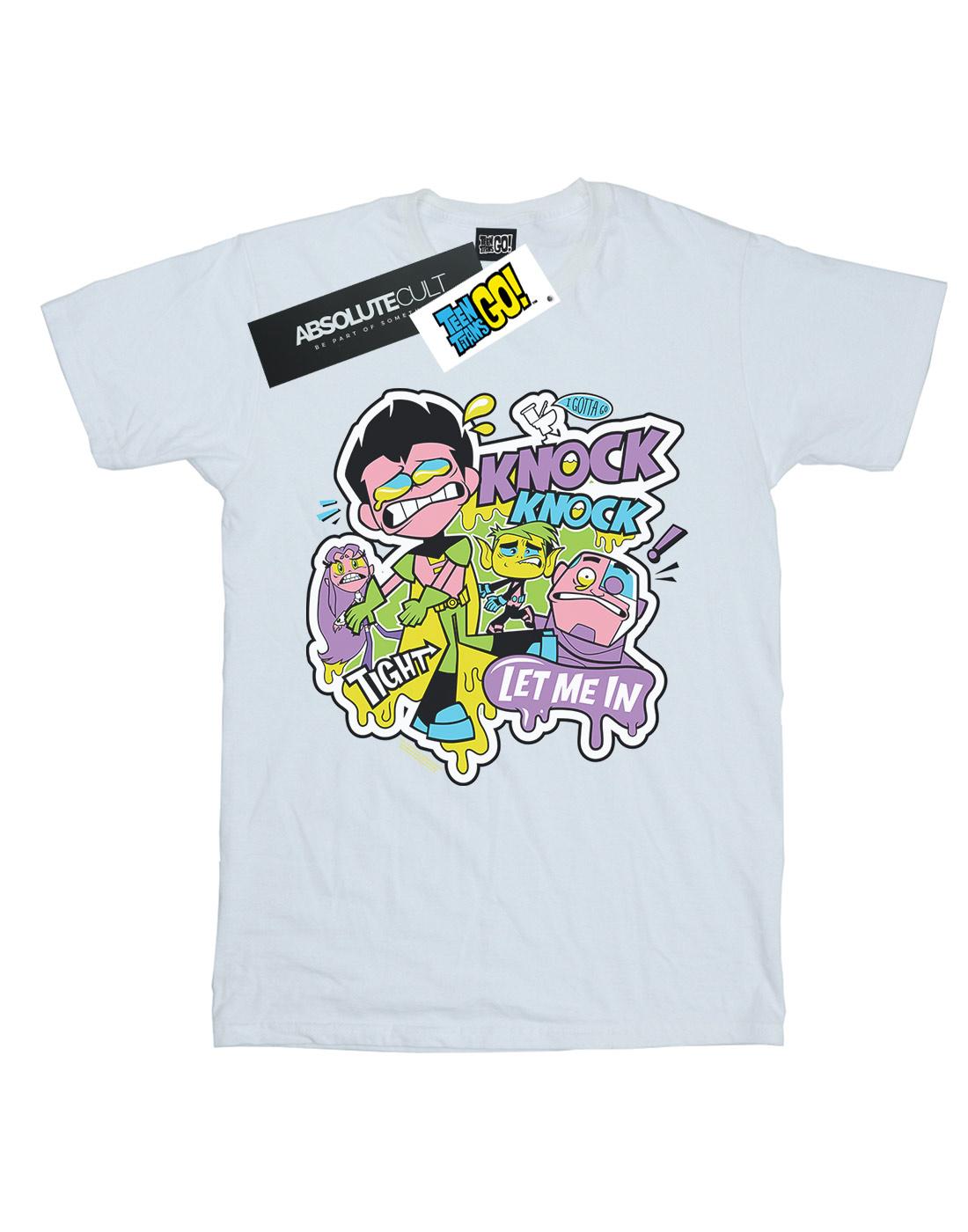 DC Comics Boys Teen Titans Go Knock Knock T-Shirt