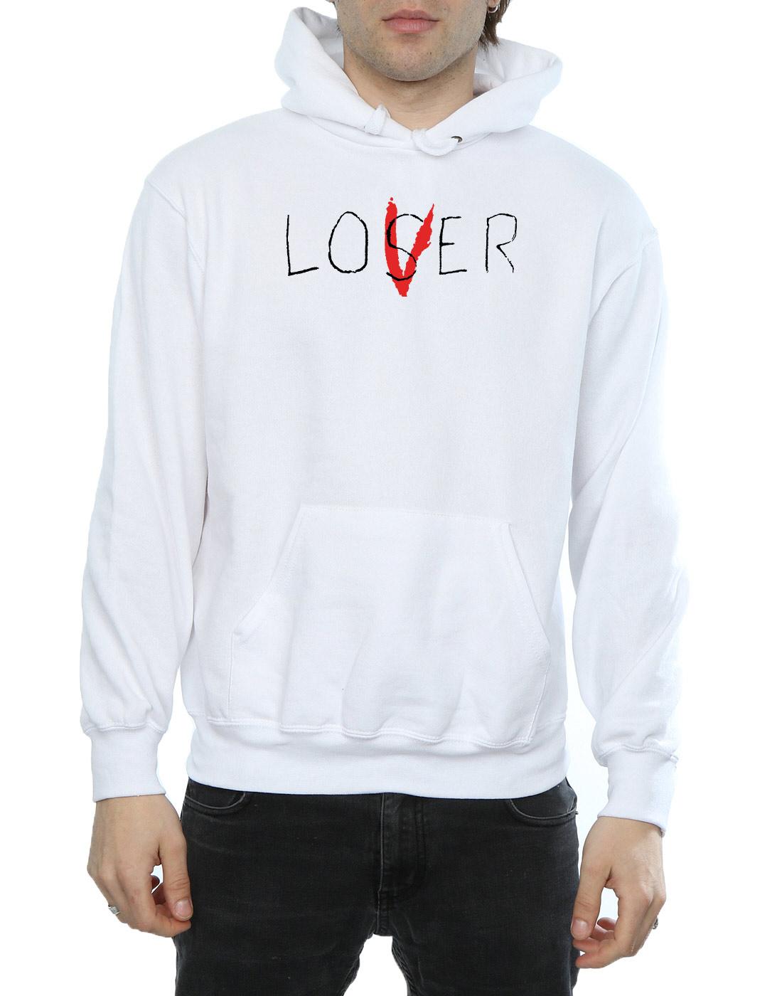 It Men/'s Loser Lover Hoodie