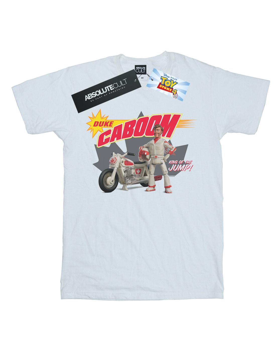 Disney Men/'s Toy Story 4 Duke Caboom King Of The Jump T-Shirt
