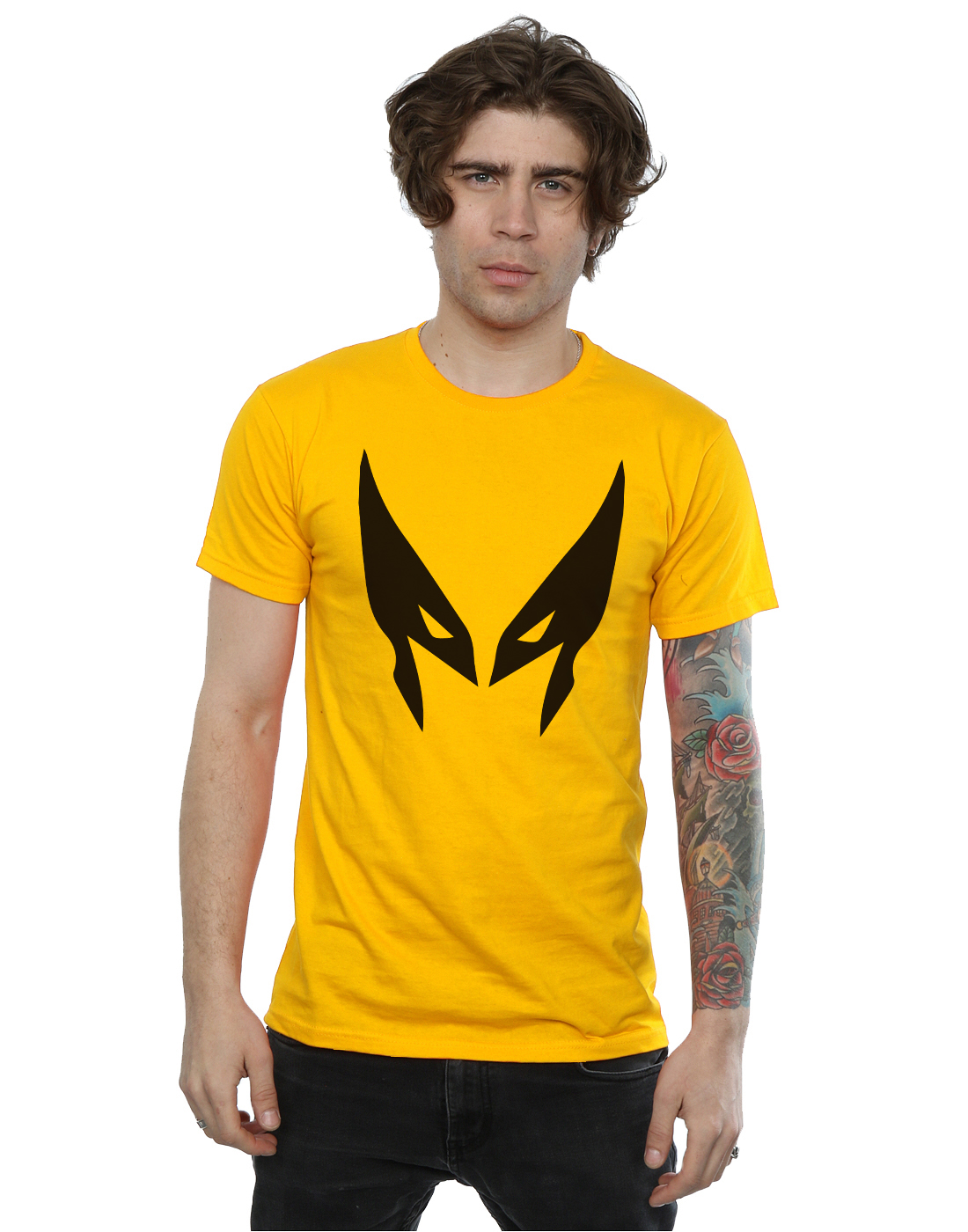 Marvel Men 39 S X Men Wolverine Mask T Shirt Ebay